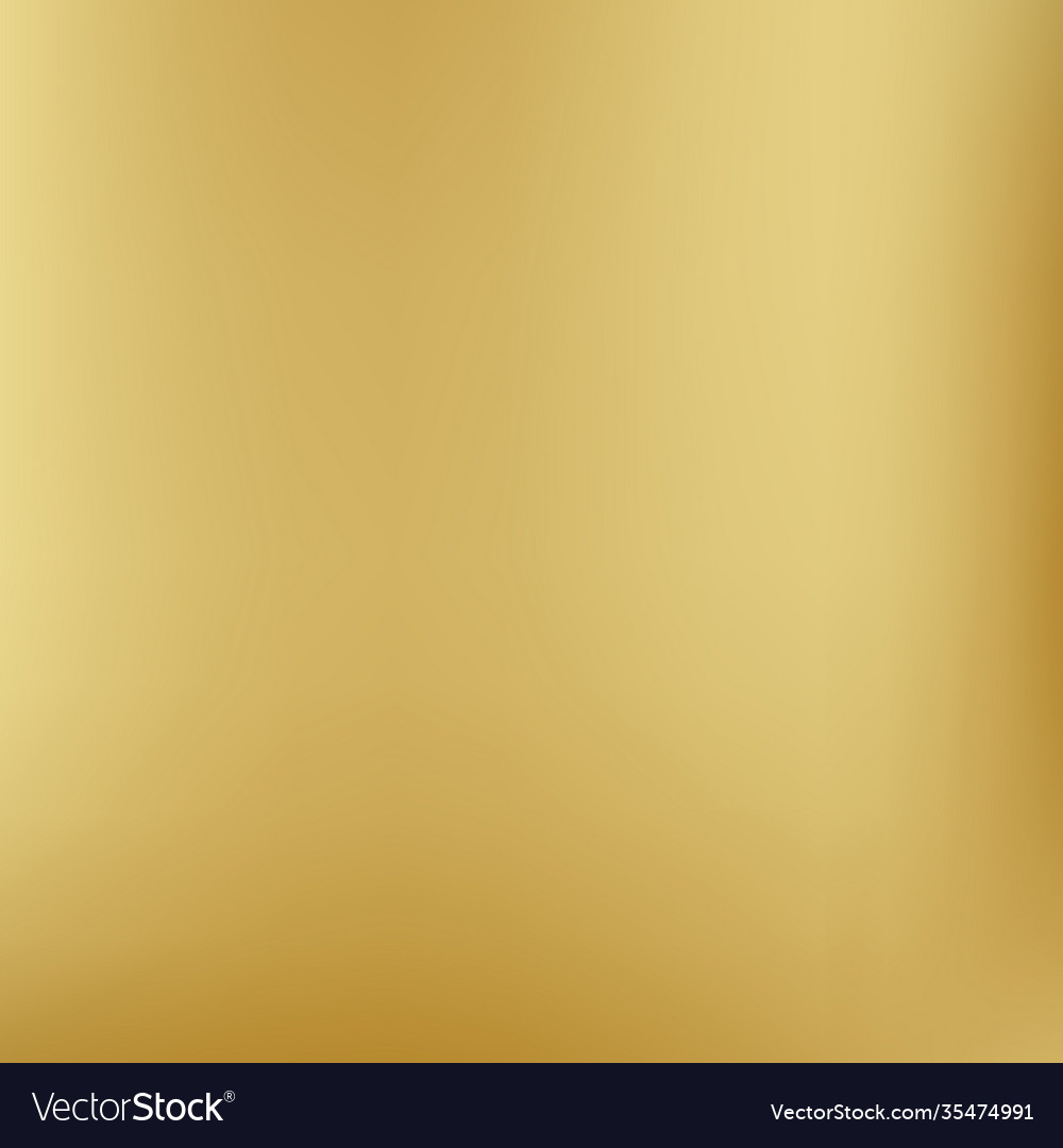Gold background gradient foil yellow