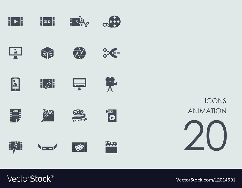 Set animation icons
