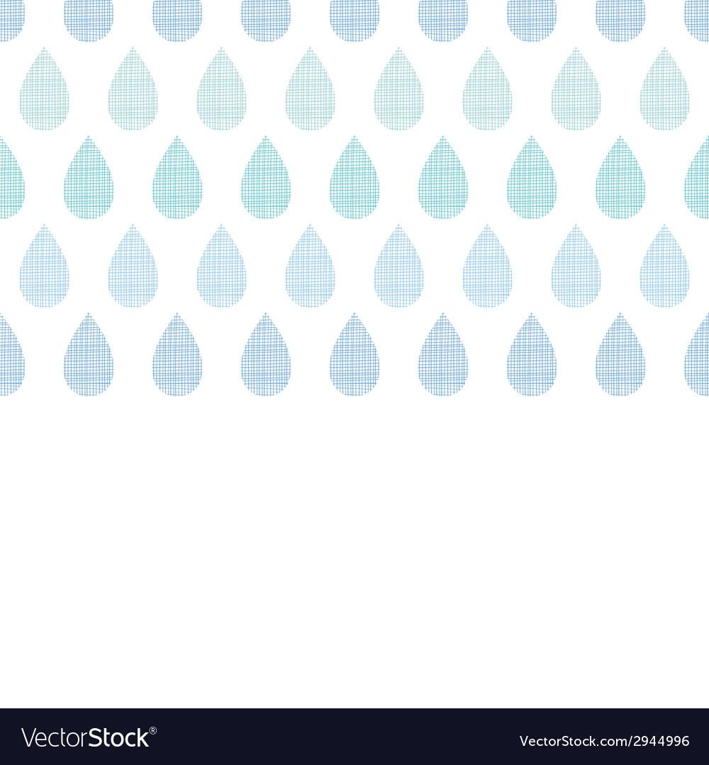 Abstract textile blue rain drops stripes