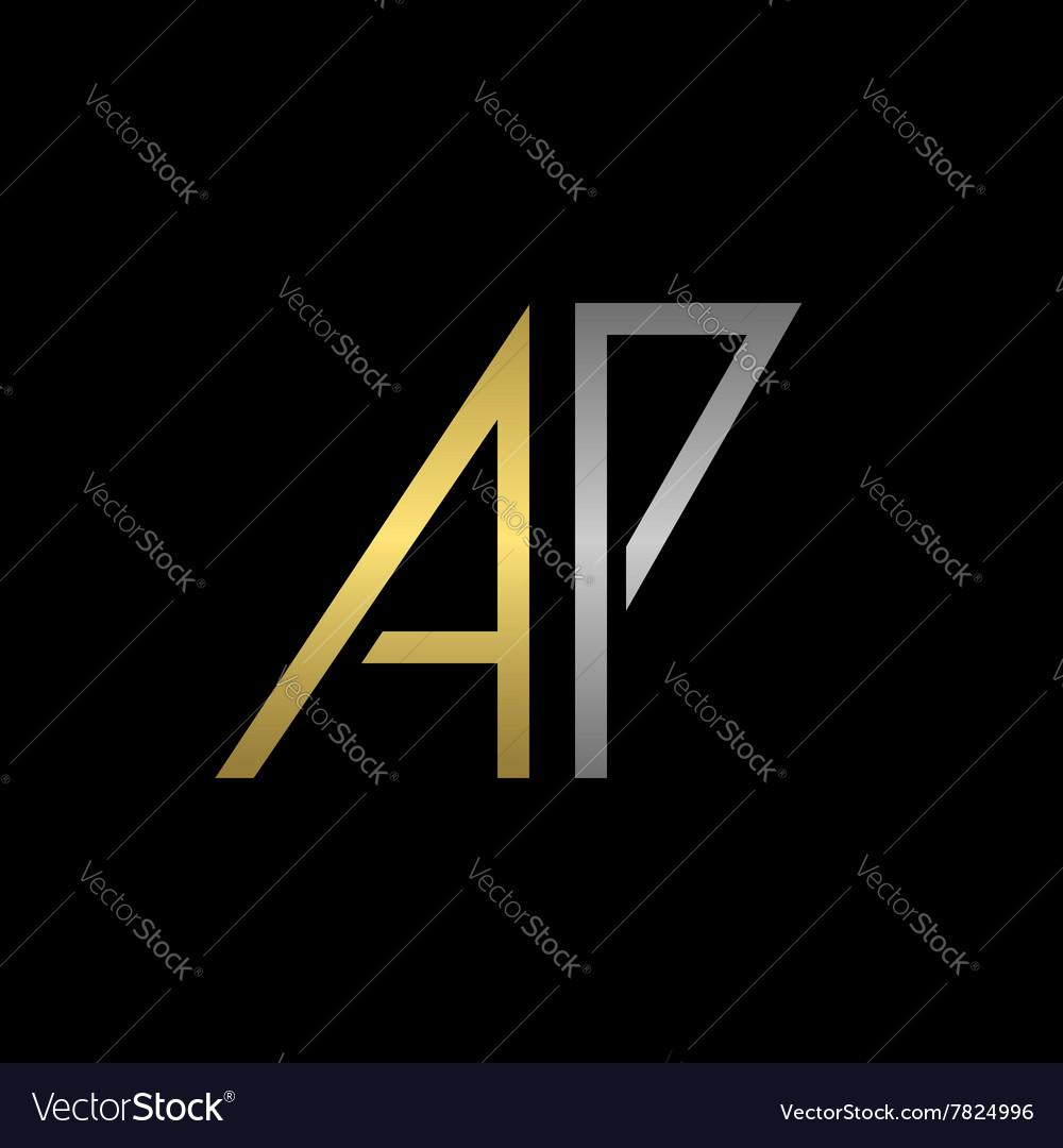 Ap letters logo