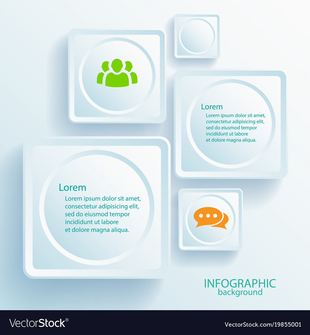 Abstract web business infographic elements