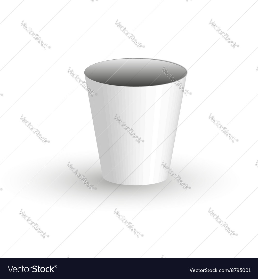 Paper coffee Cup on a transparent background