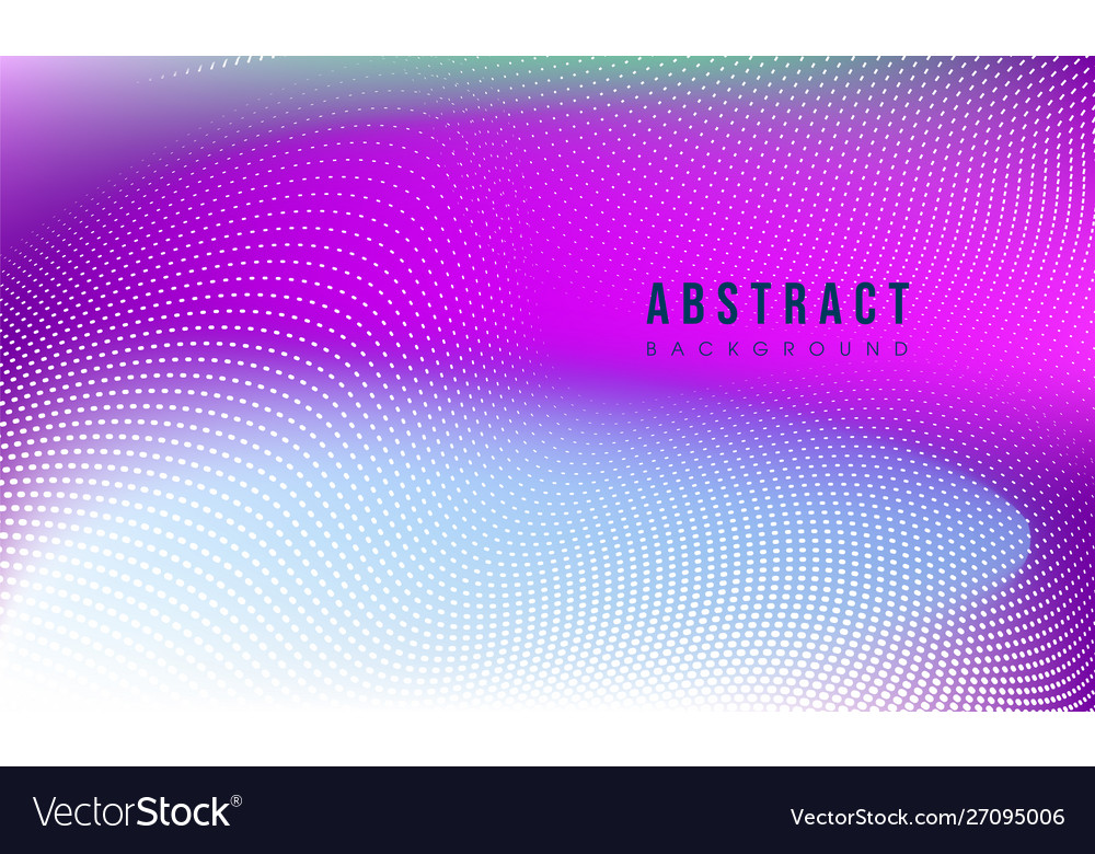 Colorful abstract particle background