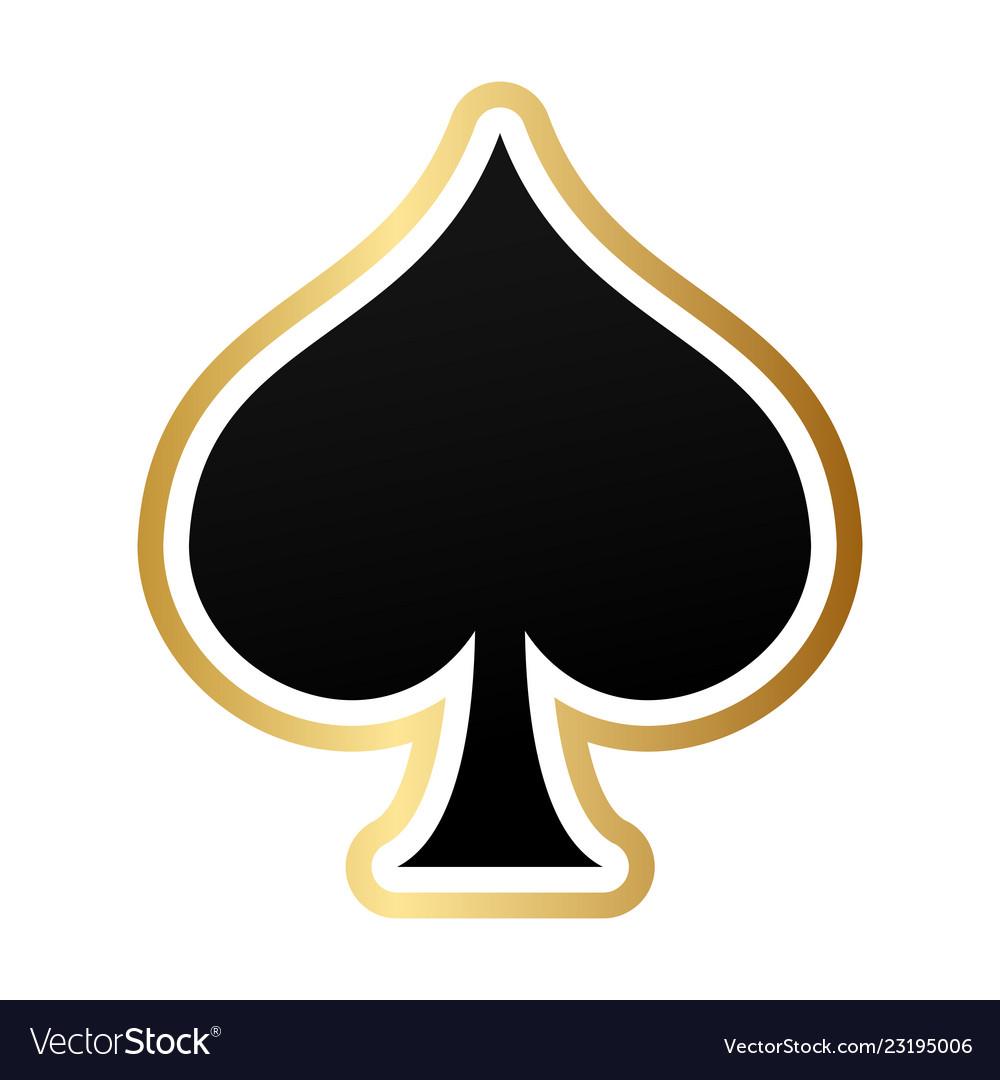 spade card symbol  Spade card symbol