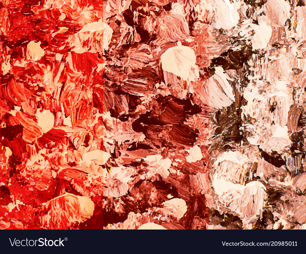 Beige brown red spotted painted background