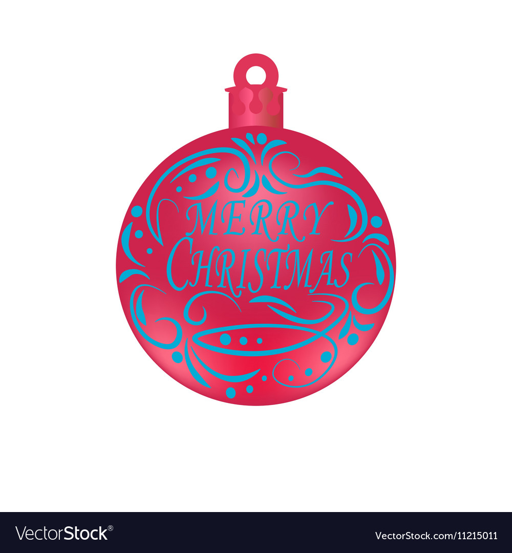 Christmas New Year festive blue lettering on a