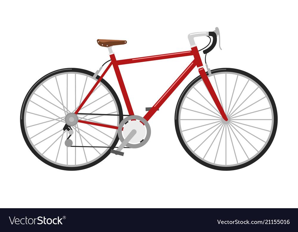 Racing road bicycle high detailed