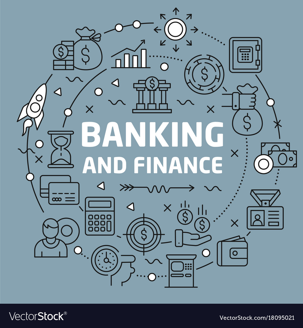 Lines background banking and finance
