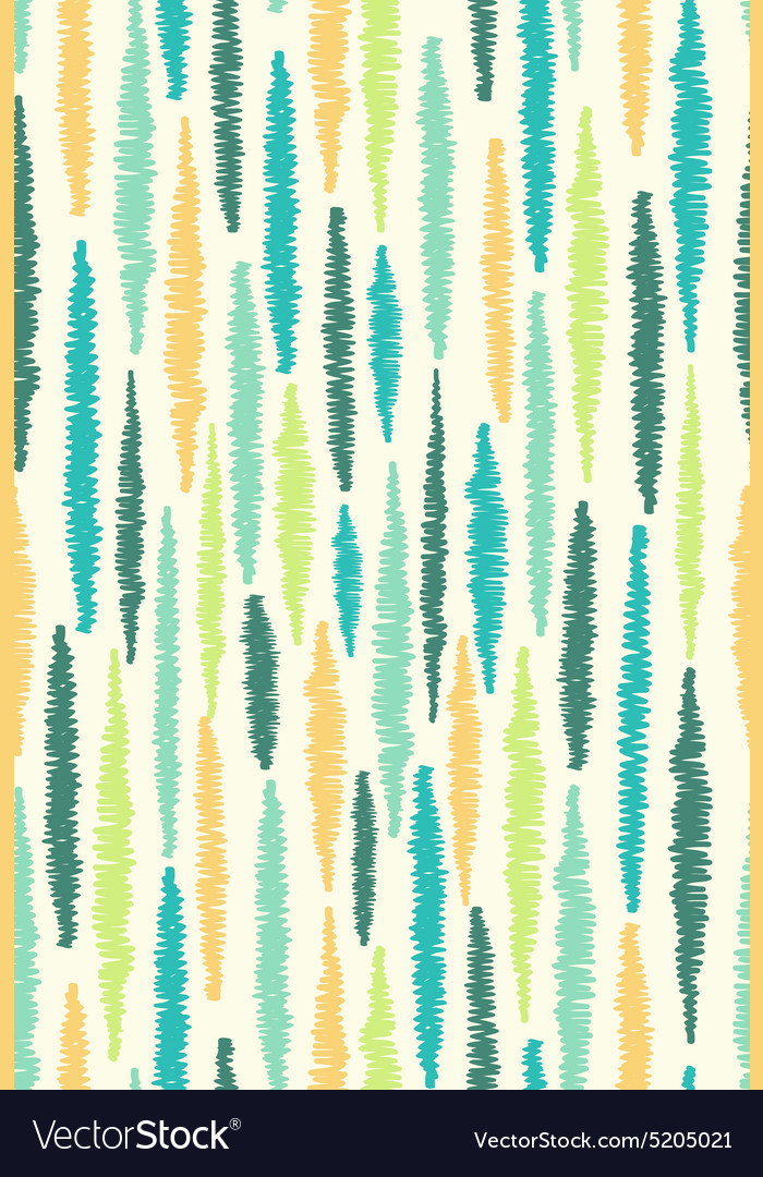 Seamless pattern with stripes Colorful hand drawn