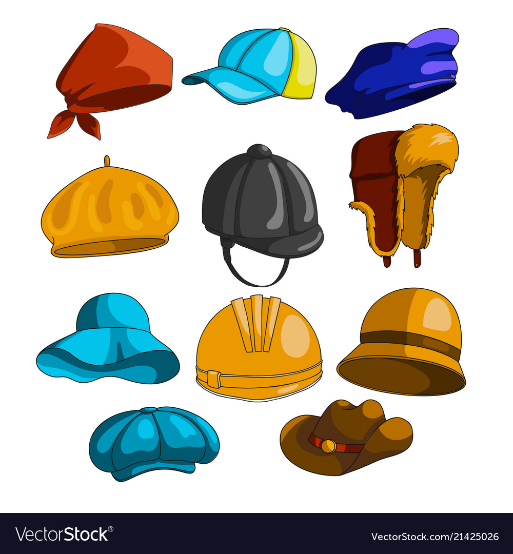 Hat icon collection