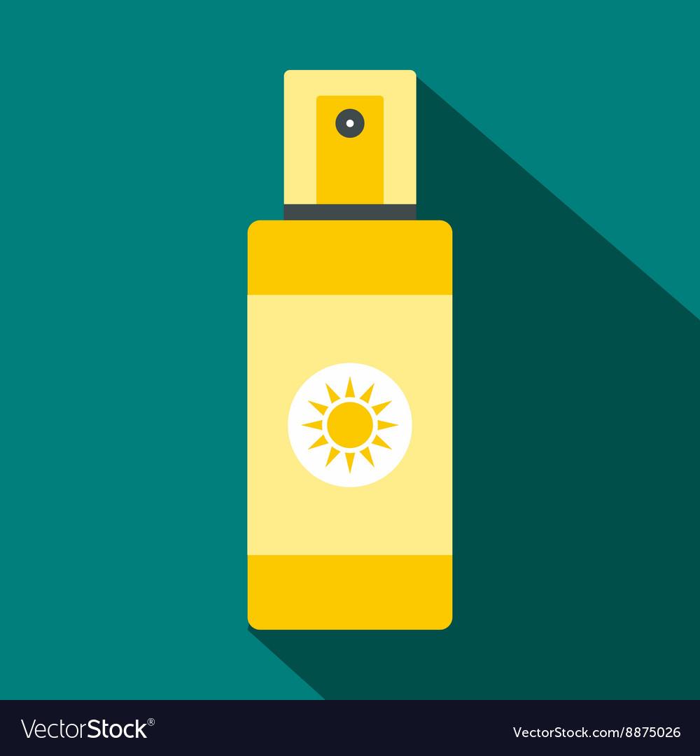 Spray tan icon flat style