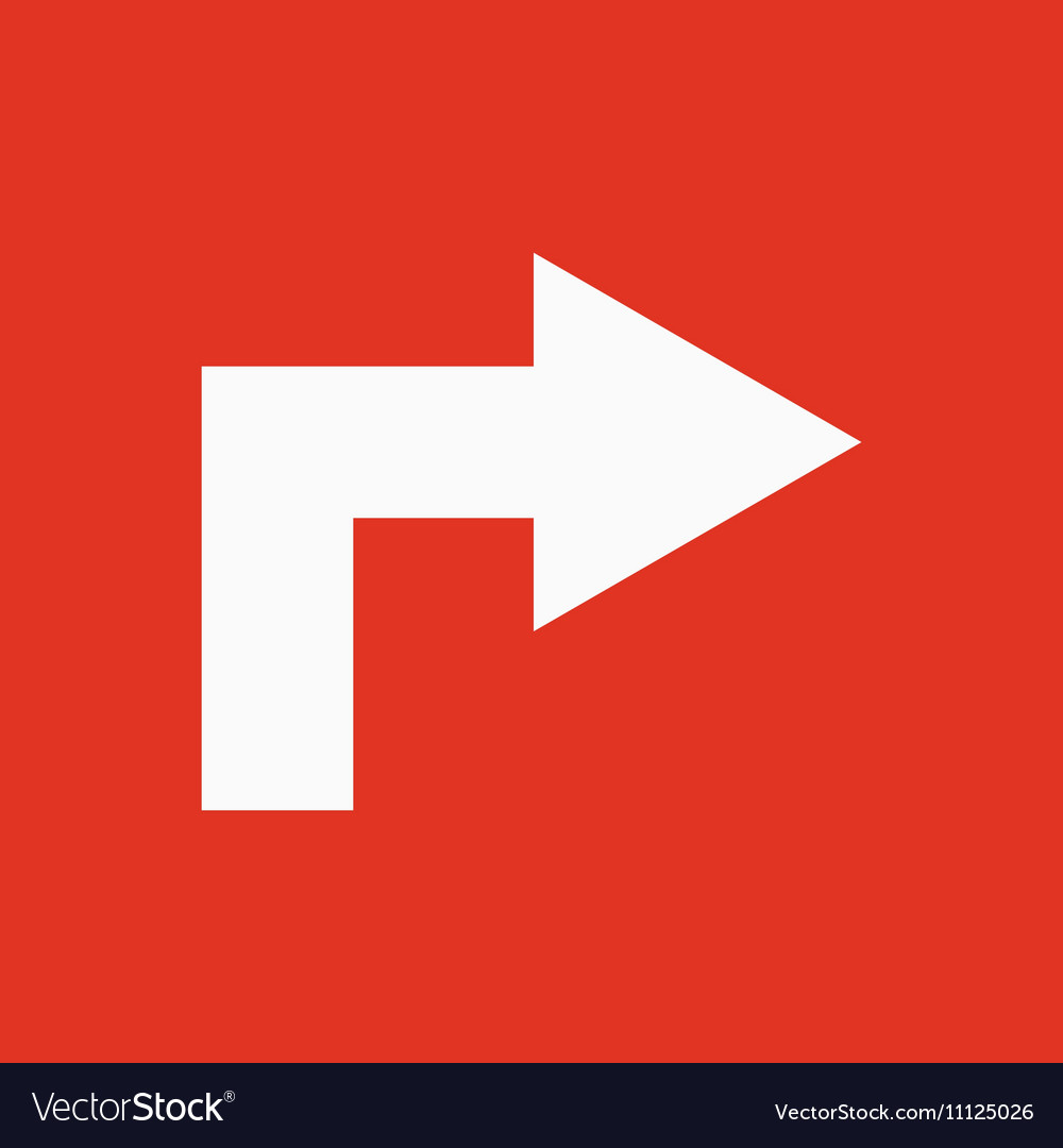 The right icon Direction and arrow navigation