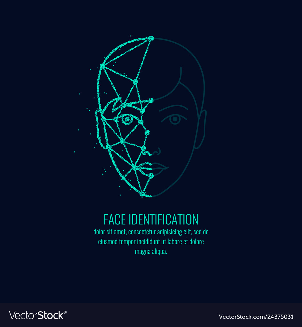 Biometric identifier of a person face