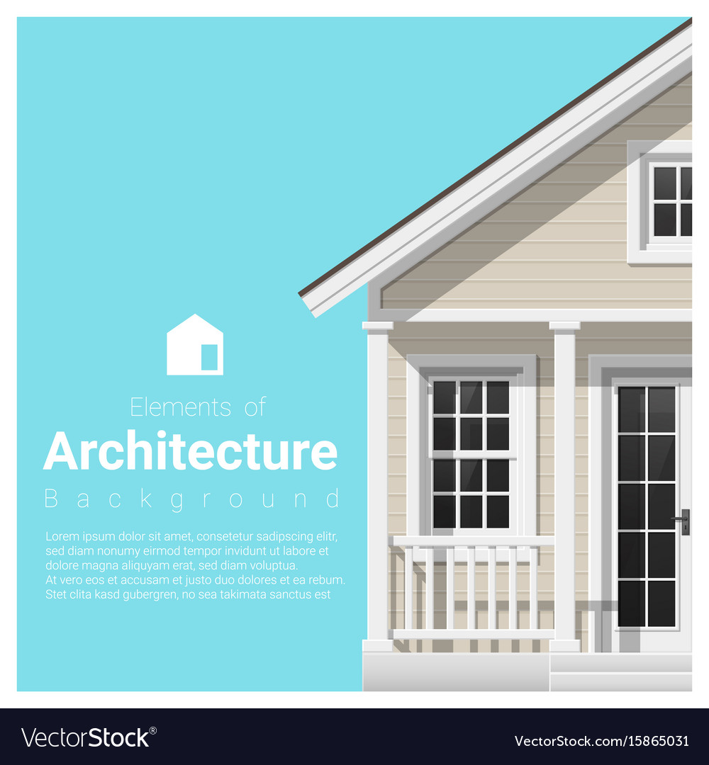 Elements of architecture background