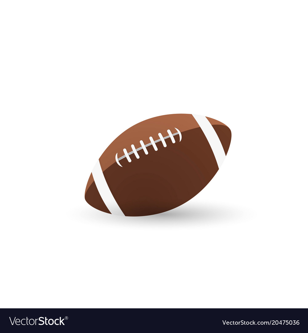 Ball american football oval icon
