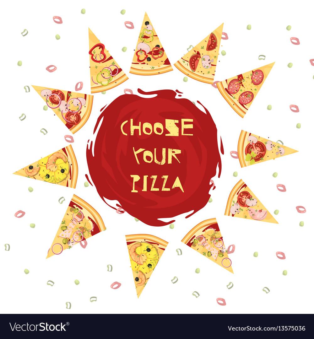 Choice of pizza round design