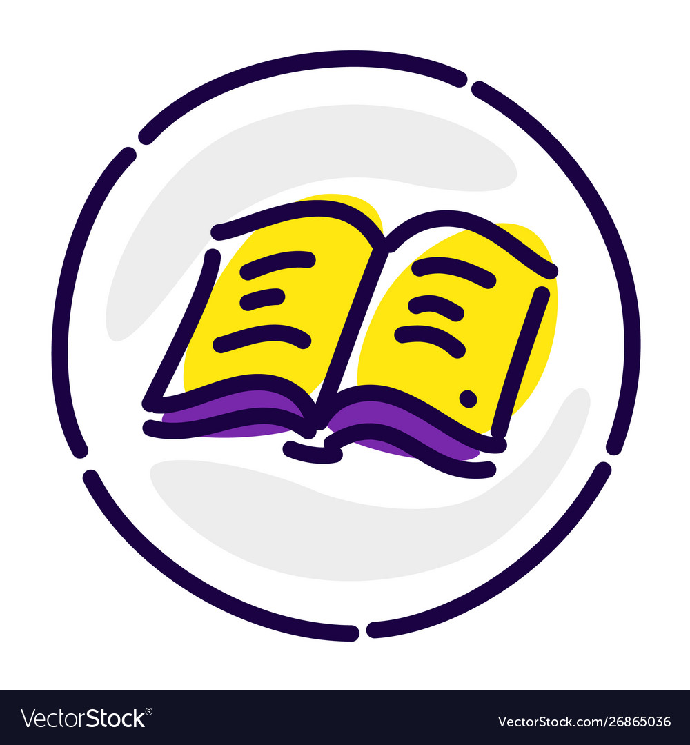 The book is yellow pages an exclusive logo a sign