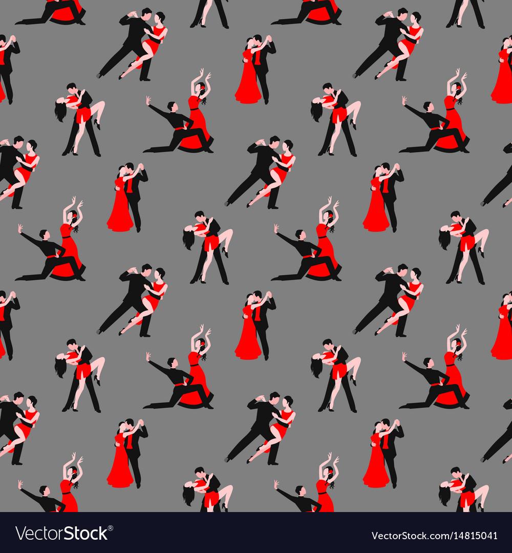 Couples dancing tango latin american romantic boy