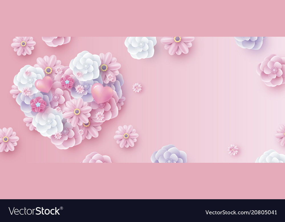 Mothers day and valentines wedding background