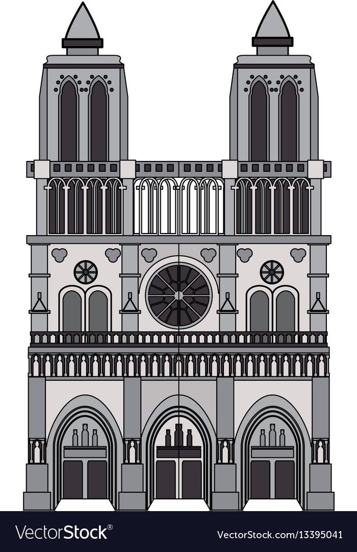 Notre dame cathedral paris icon image