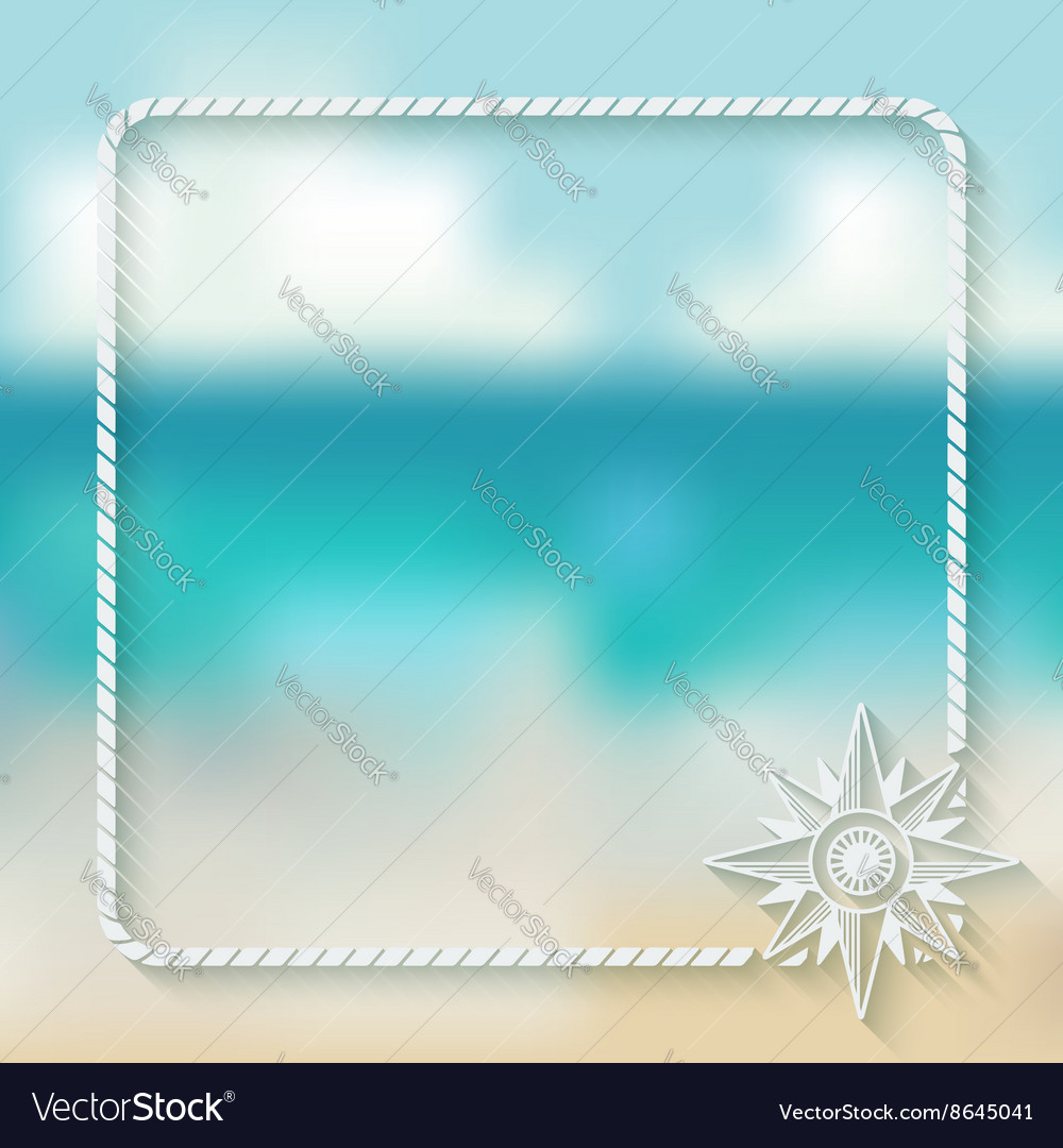 Wind rose marine background