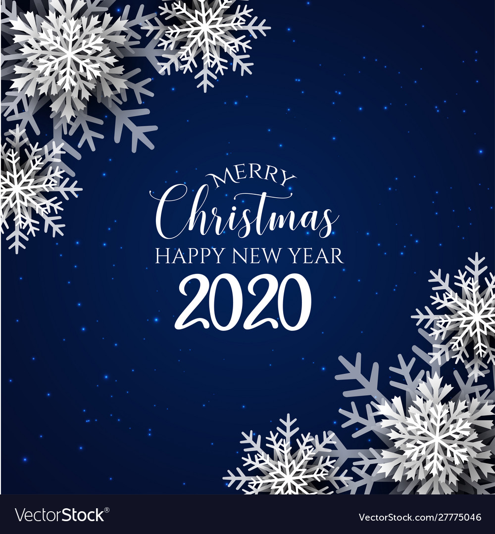 Merry Christmas Jpeg 2020 Blue merry christmas background Royalty Free Vector Image