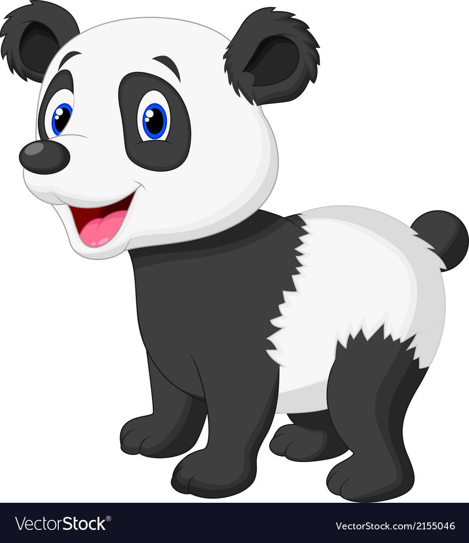 Anxiety Stuffed Animal, Cute Panda Bear Cartoon Royalty Free Vector Image