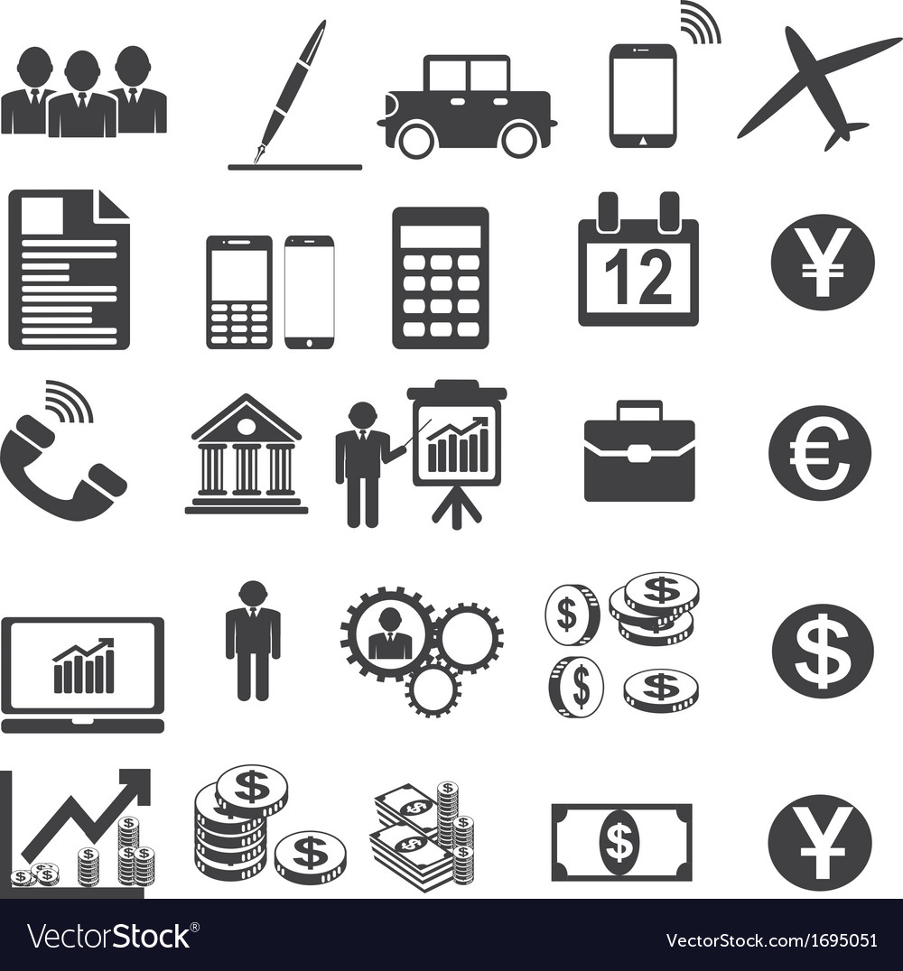 Business Icons Simplus serie