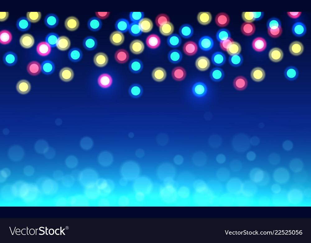 Christmas bokeh background color defocused lights
