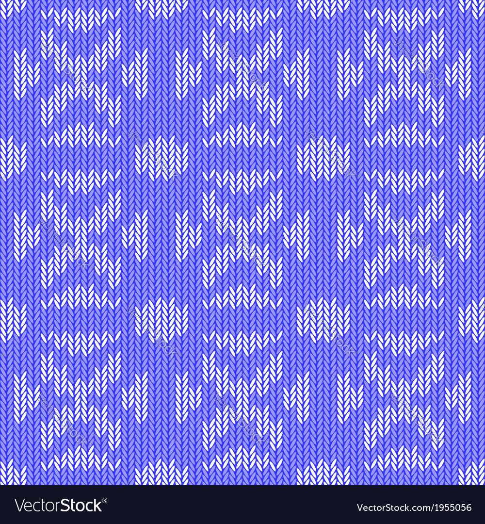 Design seamless colorful knitted pattern