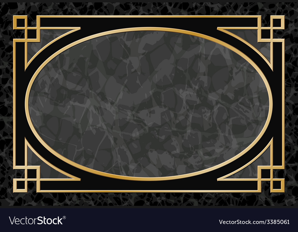 Marble Background with Frame Border