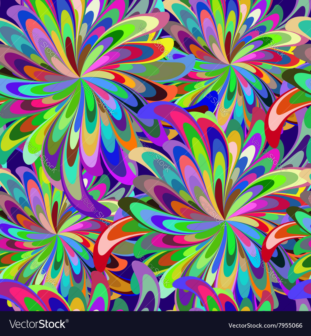 Abstract seamless carnival patern