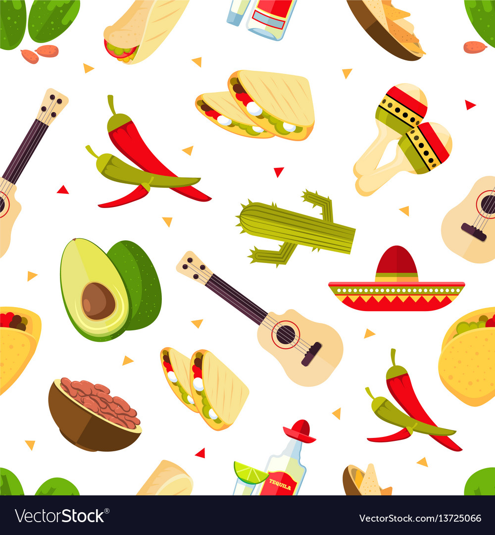 aztec theme cartoon mexican food tequila red vector image rh vectorstock com cartoon american football players cartoon mexican food images