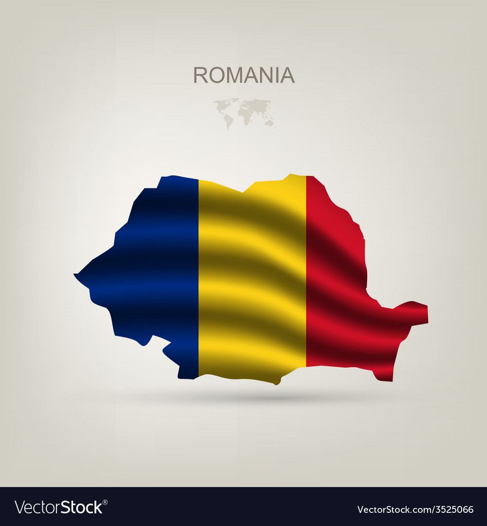 Flag of Romania as a country vector image