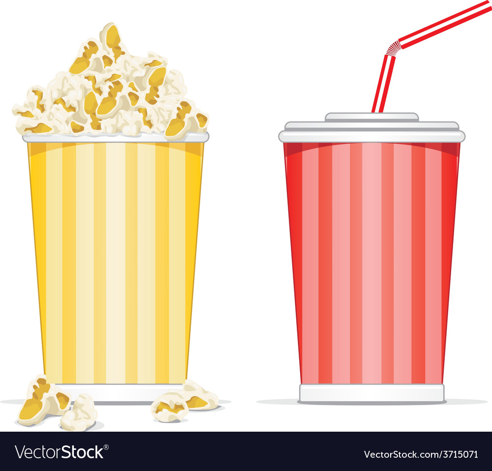 Image result for popcorn and coke