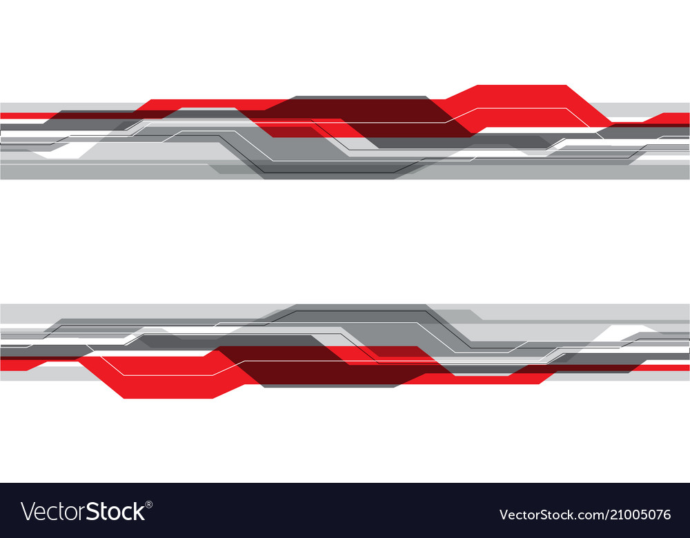 Abstract red gray line futuristic technology