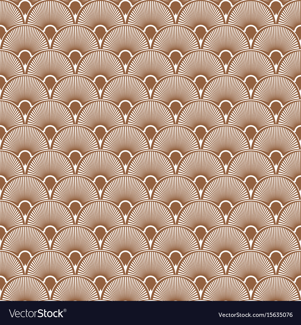 Art deco seamless pattern background