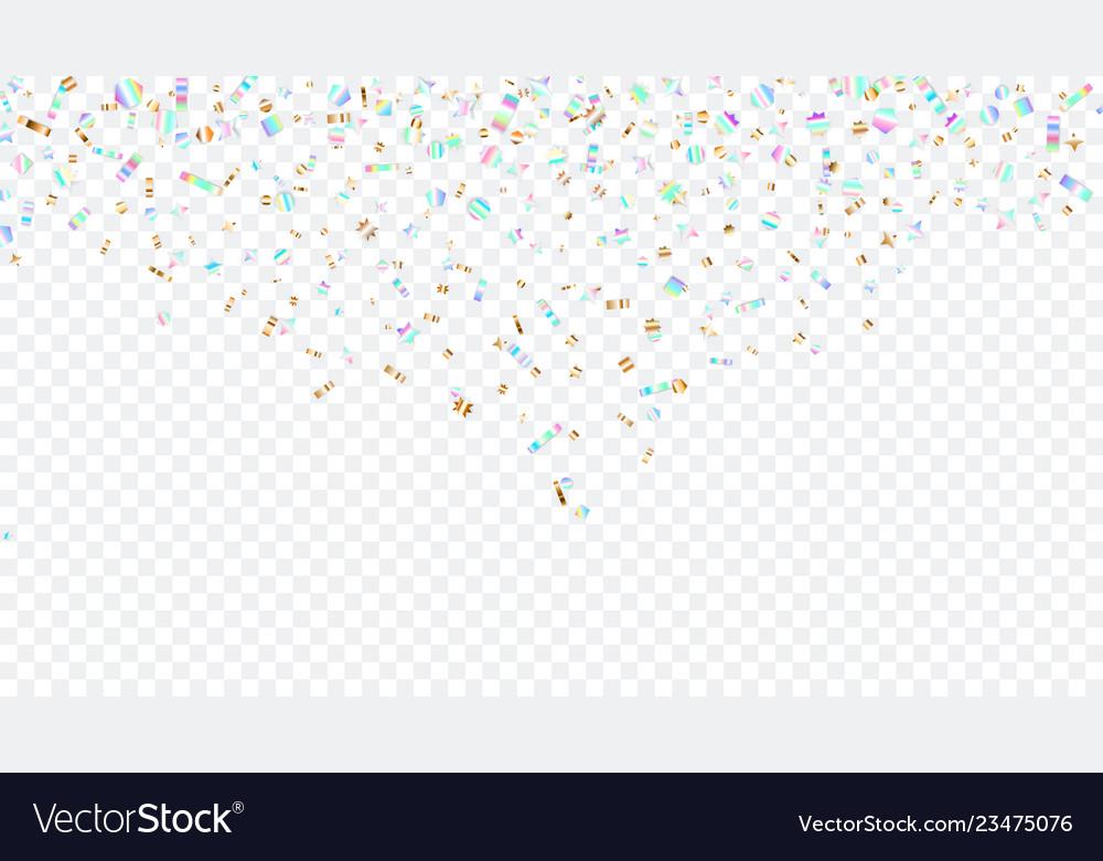 Sparkles on transparent background