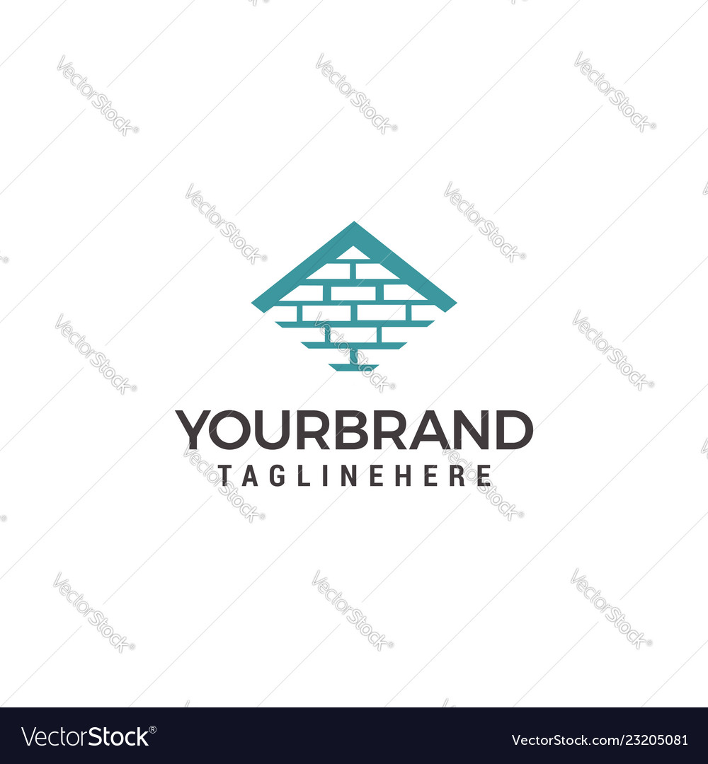 Logo template for real estate or building company