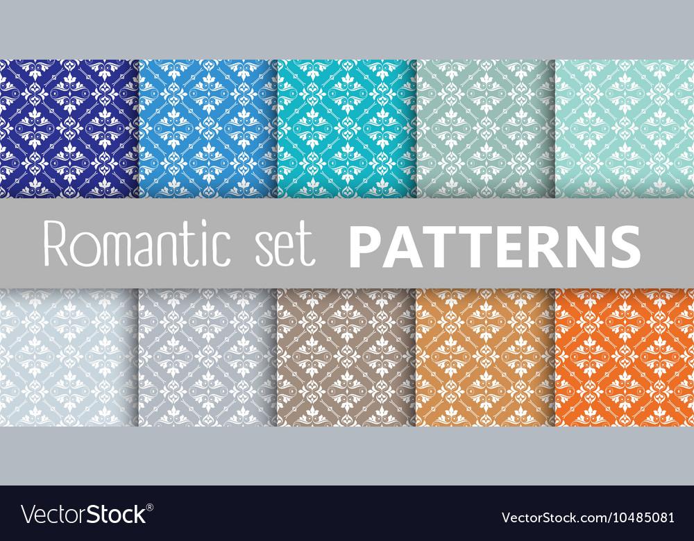 Pastel retro patterns