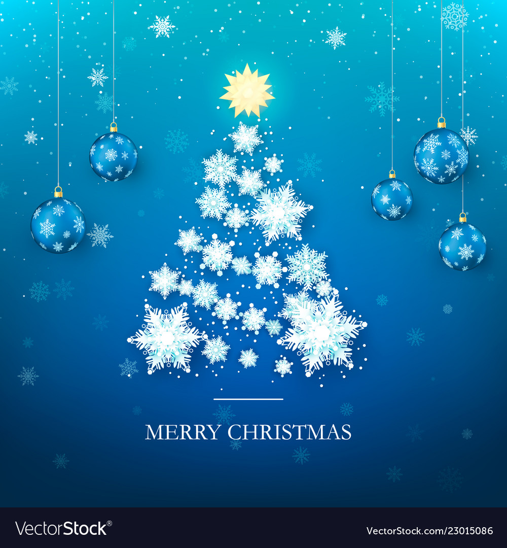 Christmas tree greeting card new year tree