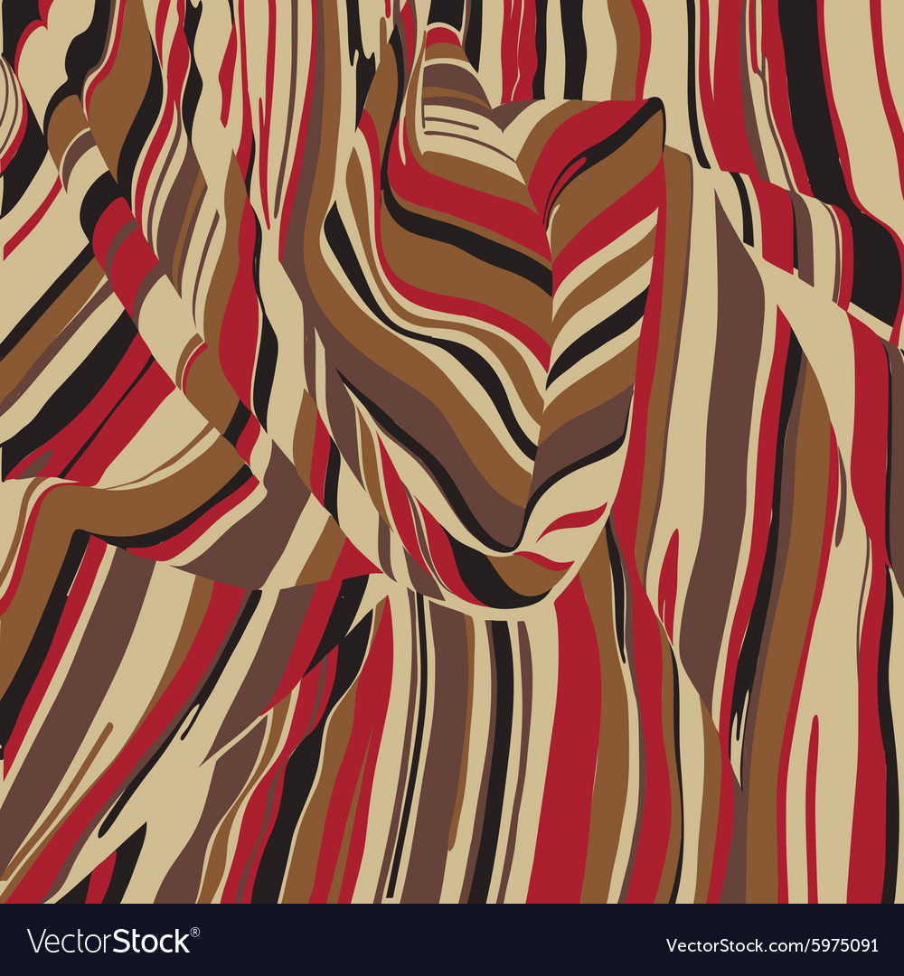 Multicolor fabric texture for vector image