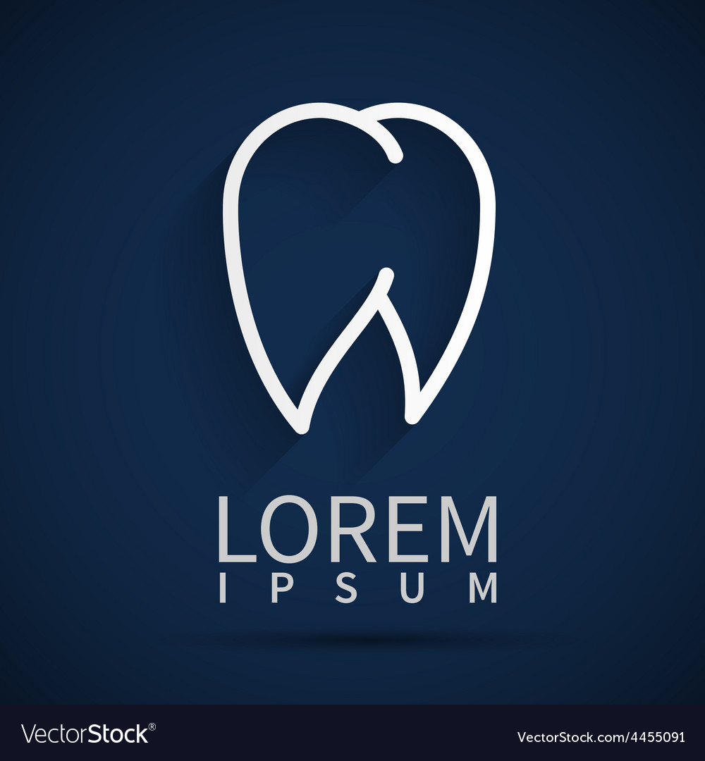 Tooth Icon white dental