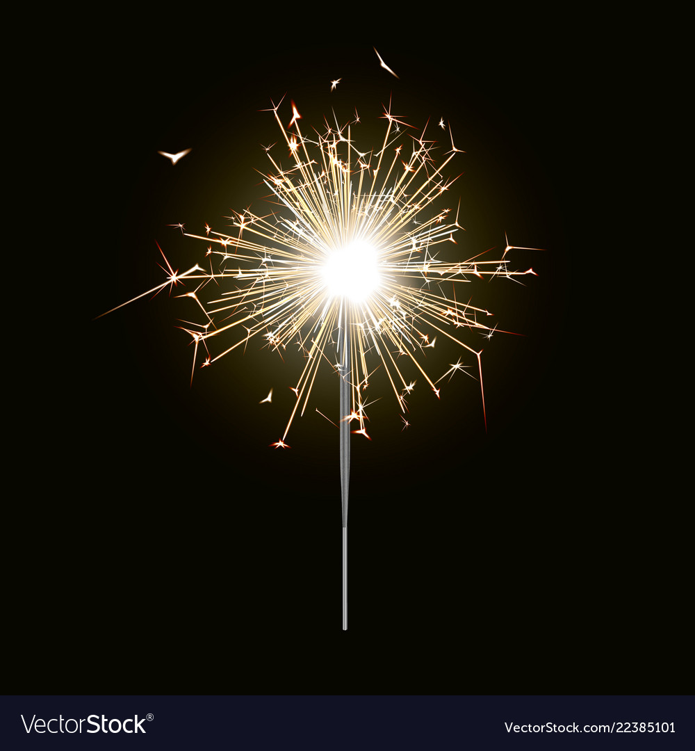 new-year-sparkler-candle- ...