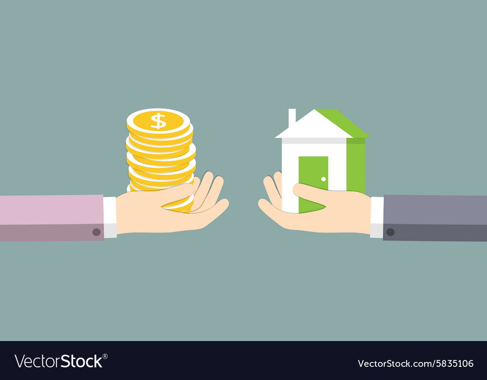 The Money Royalty Free Vector Image