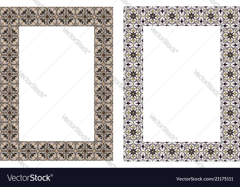 Square elegant frame