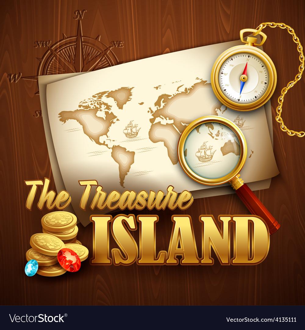 Treasure Island template