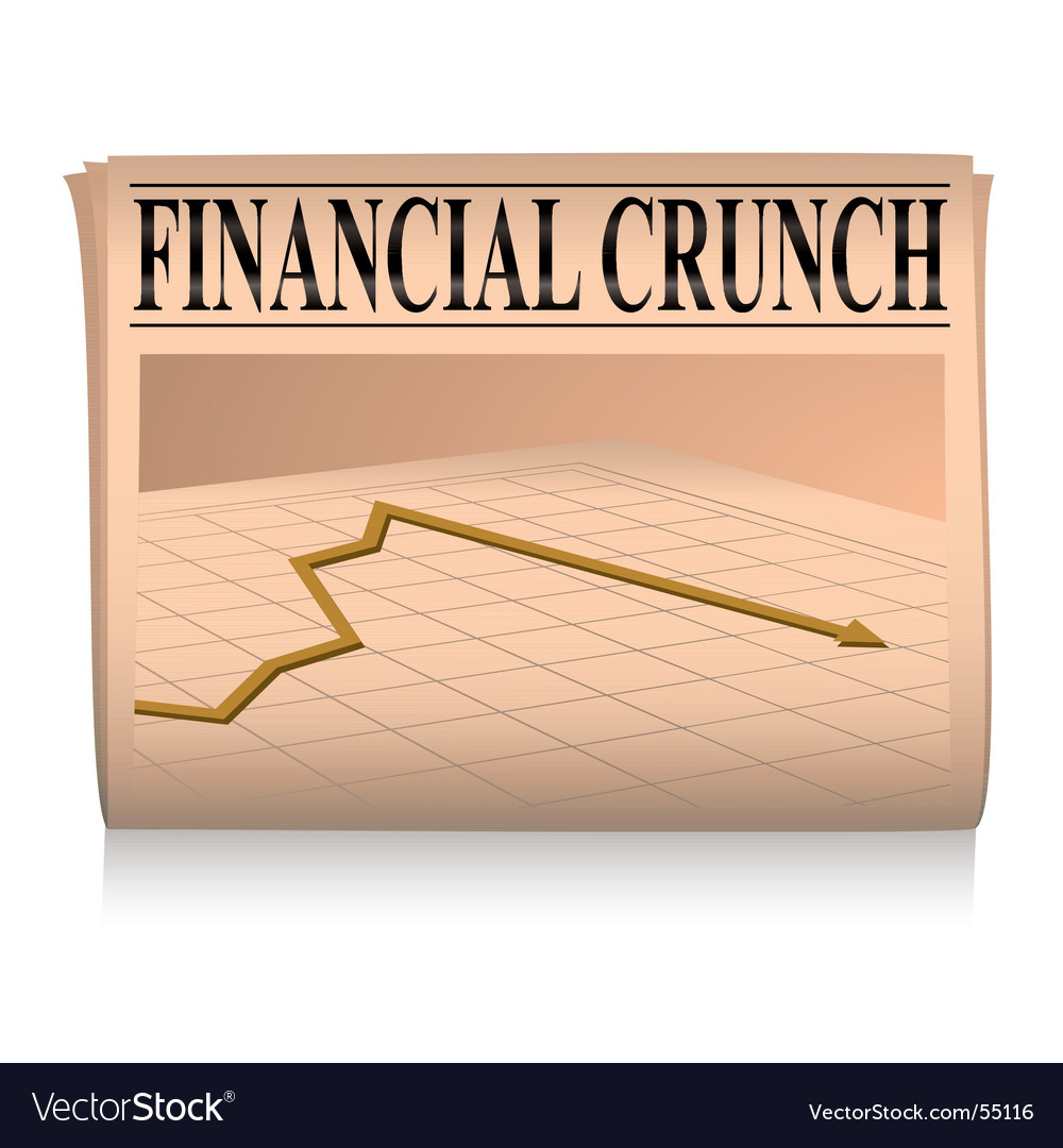 Finance graph vector image