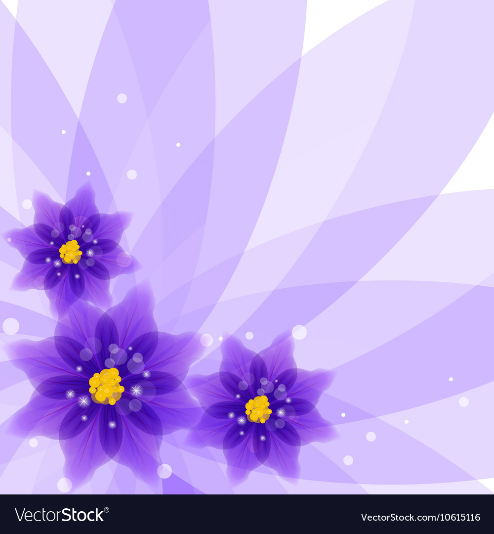 Floral Background Royalty Free Vector Image Vectorstock