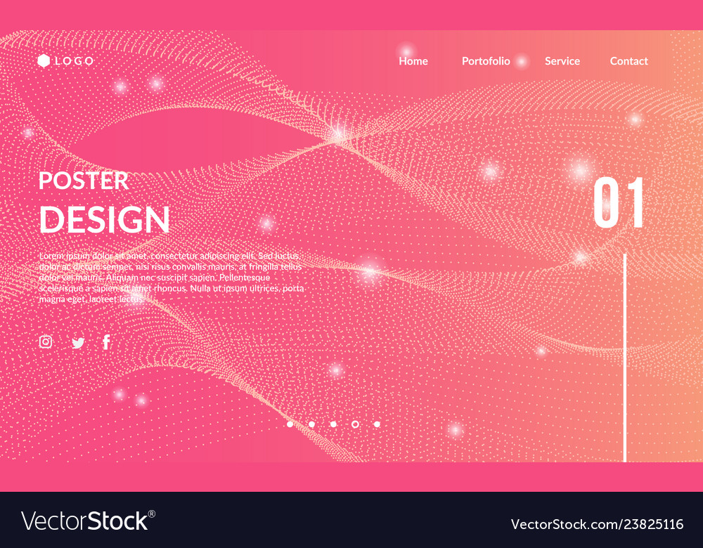 Modern abstract background template